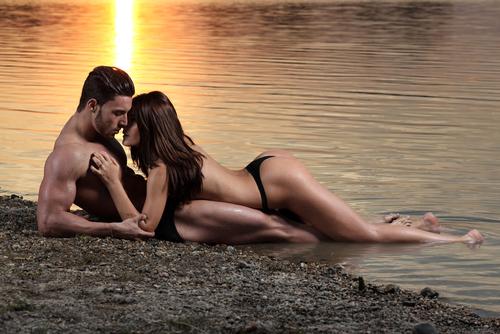 Romantický ázijský sex video